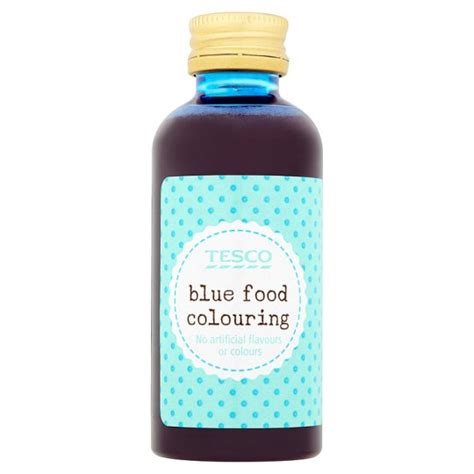 tesco blue food colouring 60ml groceries tesco groceries