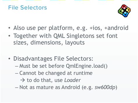 qml loader layout qt world summit 2015 talk by v play how to develop with