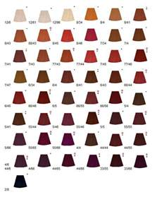 wella color touch chart koleston color shades hair color chart