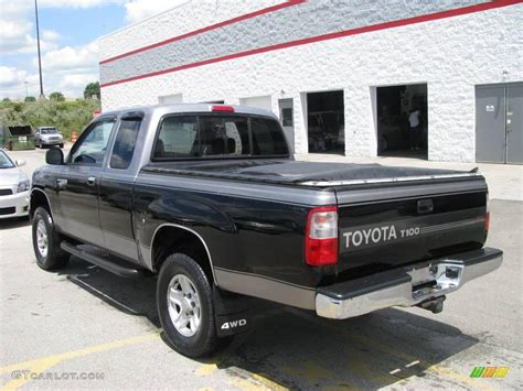 Toyota T100 4x4 1997 Pewter Pearl Metallic Toyota T100 Truck Sr5 Extended