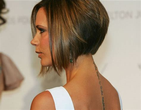 victoria beckah hair type lady nape victoria beckham posh spice has the best bob