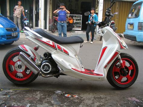 Modif Mio Sporty Balap by Foto Modifikasi Motor Mio Sporty Tips Yamaha Terbaru
