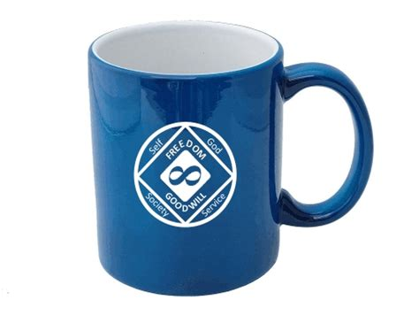 infinity chip narcotics anonymous infinity coffee cup memorial
