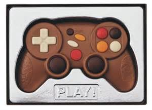 Chocolate game controller chocolate trading co