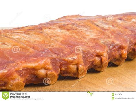 Rack Of Pork Smoked by Rack Of Smoked Pork Rib Royalty Free Stock Photos Image