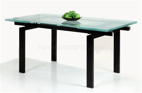 Glass Table Extendable Top Modern Dining Table W Optional Extendable Dining Table Glass