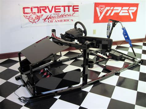 best rc sim stage ii racing simulator kit with actuator covers