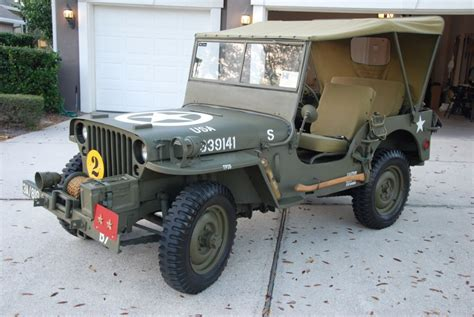 1948 Jeep Willys 1948 Jeep Willys Cj2a For Sale