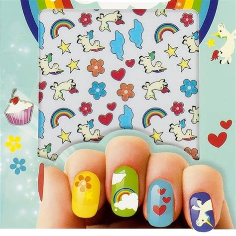 Stickers Pour Les Ongles by Stickers Licorne Pour Ongles 224 4 50