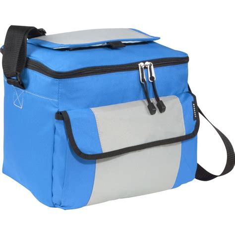 cooler bag k everest s blue insulated lunch box cooler bag w