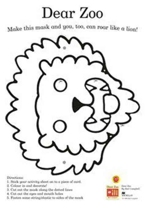dear zoo coloring page dear zoo activity sheet zoo preschool theme pinterest