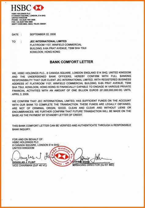 A Bank Letter Of Guarantee bank guarantee hsbc jec international ltd hsbc 1b comfort