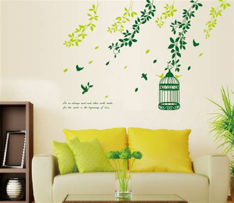 beautiful wall stickers for room interior design wall designs wall ideas birds and trees wall stickers for wall decor living room