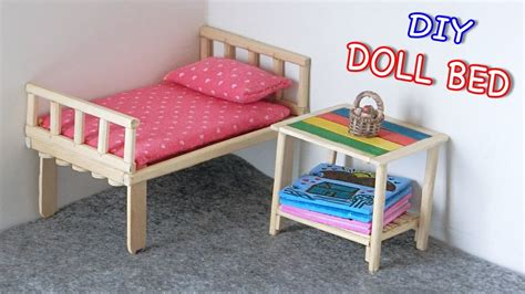 Diy R For Bed by Diy Miniature Doll Bed From Chopsticks Creative Crafts