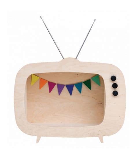 mensola per tv mensola a tv legno la cameretta di pippi
