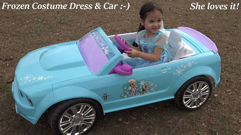 frozen power wheels sleigh she loves disney frozen she loves queen elsa ride on