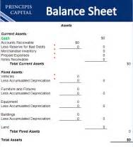 Download your free small business balance sheet template