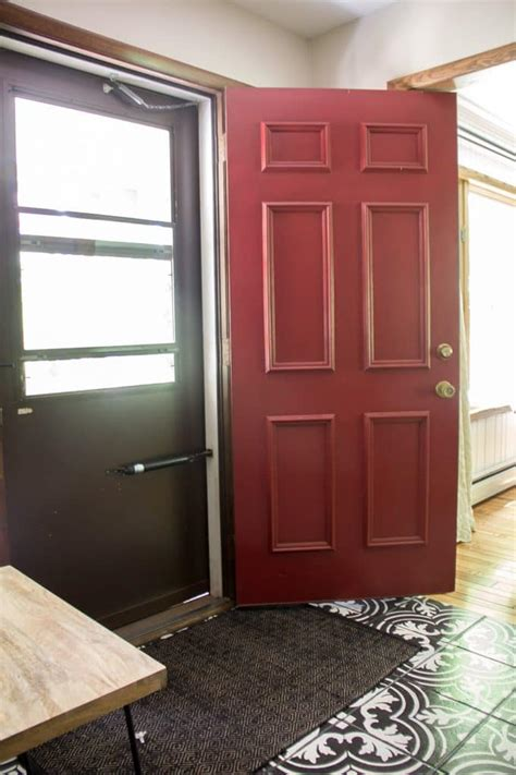 replacing front door replacing our front door and door bright green door