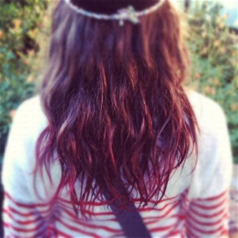dipping hair in hot water kool aid kool aid dip dye and keep in mind on pinterest