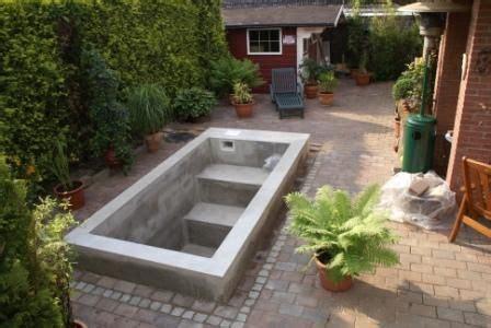Mini Pool Selber Bauen by Die Besten 25 Mini Pool Ideen Auf