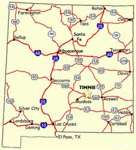 New Mexico Casinos Map by Casinos In New Mexico Map