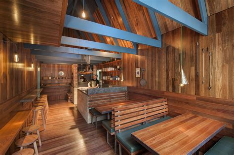 woodwork restaurant mountain inspired pink moon saloon is a narrow bar