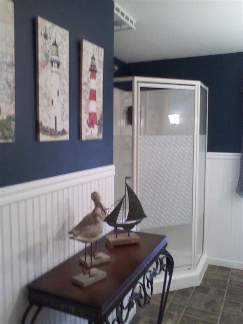 Nautical Bathroom Ideas Nautical Bathroom Theme Decor Pinterest