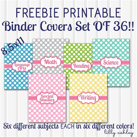 printable science binder covers make it create by lillyashley freebie downloads back to
