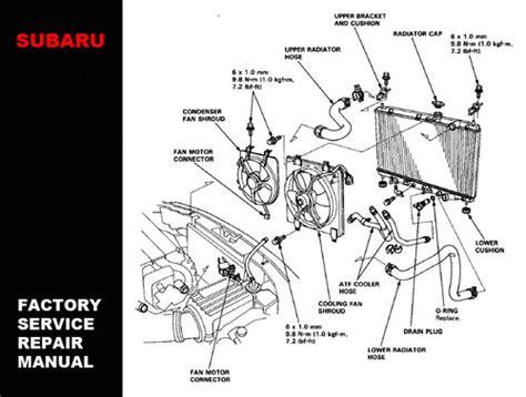 subaru legacy 1994 1995 1996 1997 1998 1999 service repair