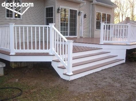 back deck maybe change orientation of stairs to open to back like