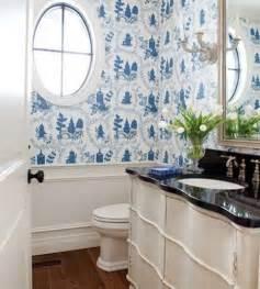 Blue Bathroom Wallpaper » Home Design 2017