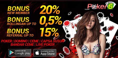 POKER 6 Situs Agen Poker Terpercaya domino qiu qiu indonesia, agen domino QQ & Live domino qq