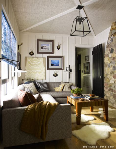 decorating tips for a masculine den who says you need an area rug to anchor a room we re