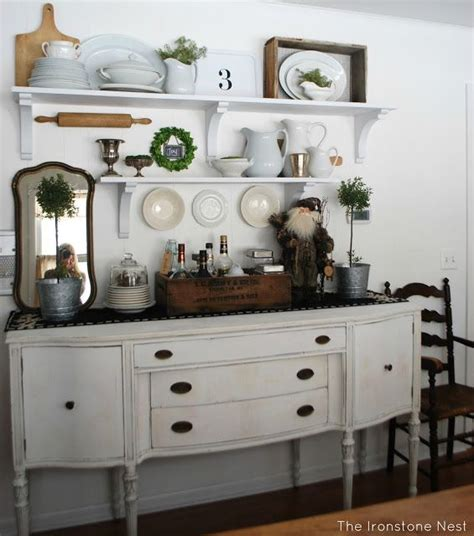 Decorating Ideas For A Kitchen Hutch 25 Best Antique Buffet Ideas On Painted