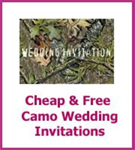 1000 Images About Cheap Wedding Invitations On Pinterest Cheap Wedding Invitations Free Free Camo Wedding Invitation Templates