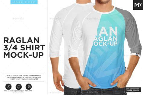 Raglan Gamer 07 From Ordinal Apparel raglan 3 4 shirt mock up by mocca2go graphicriver