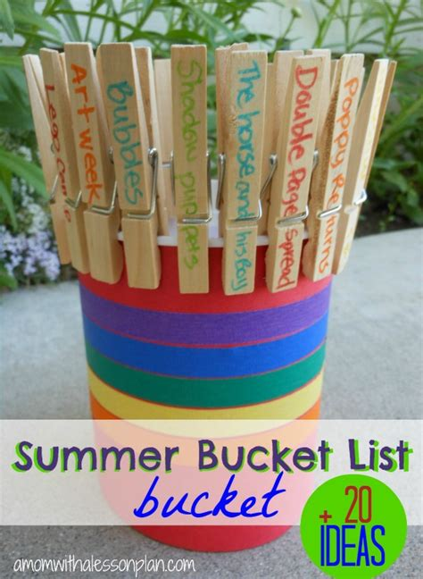 ideas for summer summer list ideas and