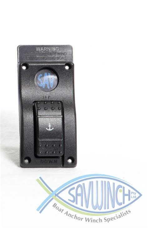 boat winch difference up down switch for winches with eff or solenoid block