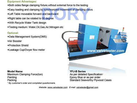 hydrostatic test bench yfj b hydro valve test bench view hydro valve test bench dory product details from