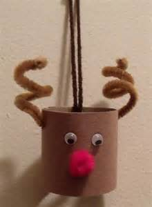 craft reindeer toilet paper roll reindeer craft of toria