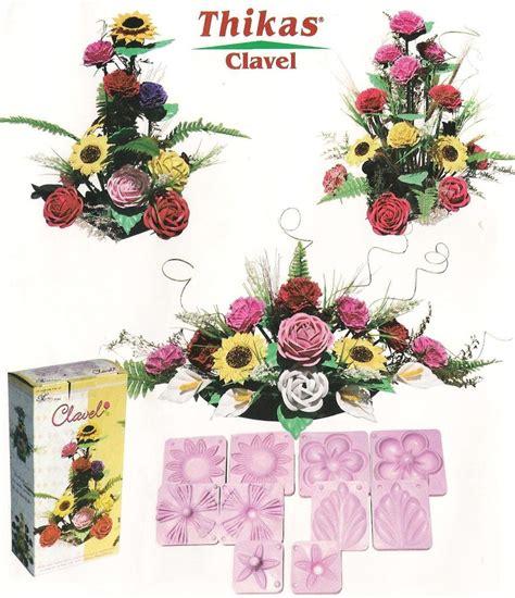 rosas moldes de flores para hacer arreglos florales en fomi goma eva hd 3 kits moldes para hacer flores de foamy 350 00 en