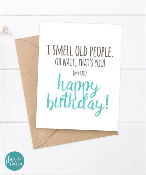 Sarcastic Birthday Card Oh No Another Birthday Greeting 25 Best Ideas About Old Birthday Cards On Pinterest
