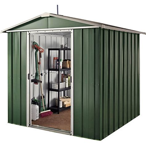 Homebase Metal Sheds by Hercules Deluxe Apex Metal Shed Floor Support Frame