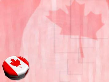 canada flag 09 powerpoint templates