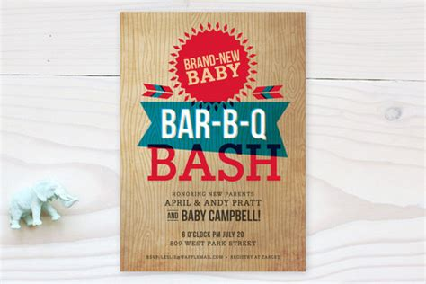 backyard bbq baby shower backyard barbeque baby shower invitations by susie minted
