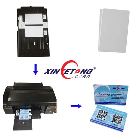 pvc id card template epson 125khz tk4100 rfid id inkjet pvc card for epson and canon