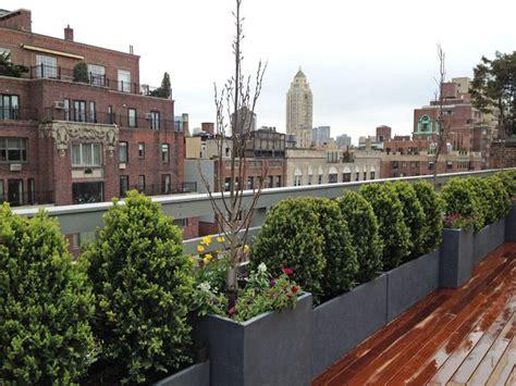 rooftop plants manhattan rooftop terrace roof garden deck outdoor