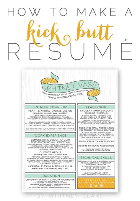 useful design tips articles to create a great resume
