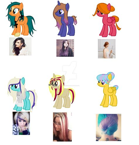 hair styles in two ponies mlp hairstyle adopts open by cheesepuff2 on deviantart