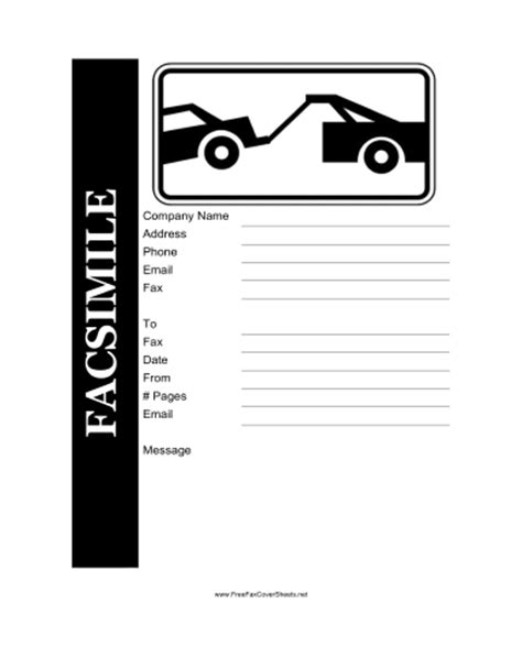Sample Bookkeeping Resume by Tow Truck Fax Cover Sheet At Freefaxcoversheets Net